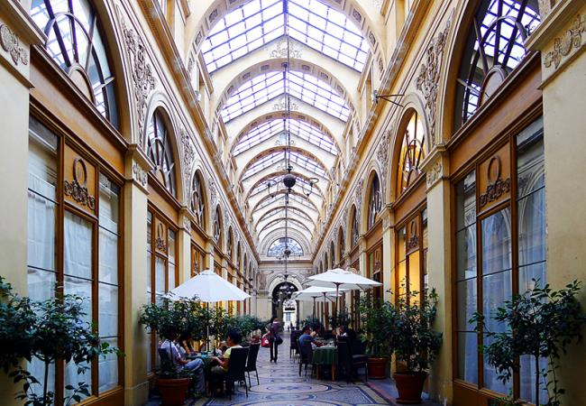 Paris Winter Sales and the city's beautiful covered passages