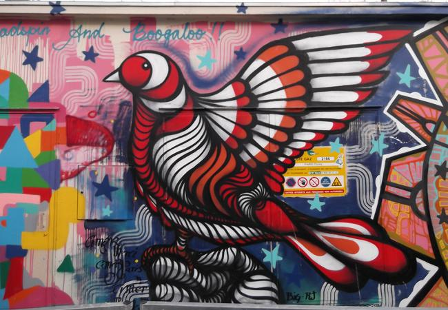 Discovering the best works of street art in Paris